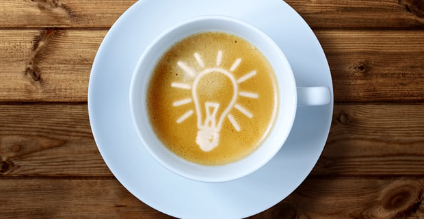 ideas, inspiration, coffee