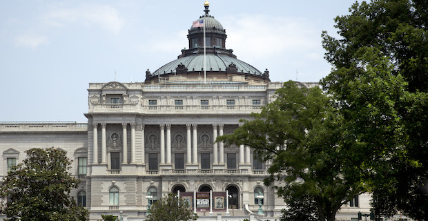 Photograph of Library of Congress by Carol M. Highsmith