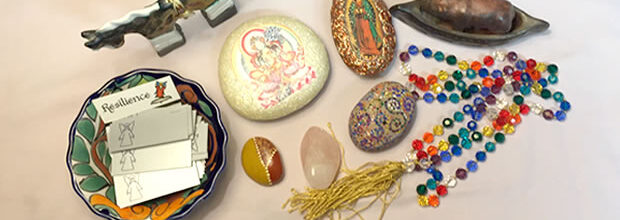 Editor's Desk: Talismans Support Me In My Meditation
